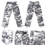 City Camo Poly/Cotton BDU Pants