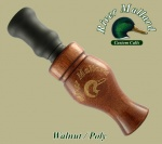 Walnut/poly double reed манок на утку