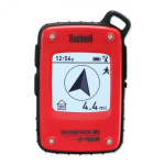 GPS навигатор Bushnell BACKTRACK D-Tour (RED)